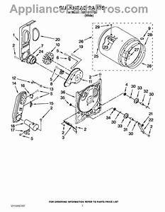 Parts For Admiral Agd4675yq0  Bulkhead Parts