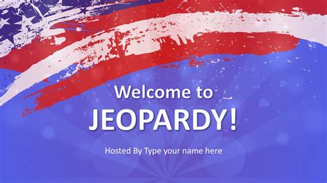 Jeopardy Template Slides Jeopardy Powerpoint Templates