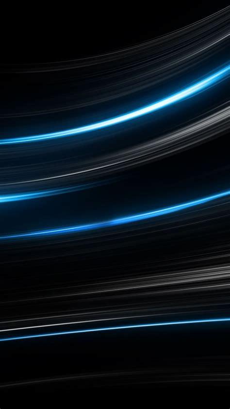 wallpaper lines black blue  os