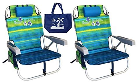 Bahama Backpack Chair Dimensions by Bahama Backpack Chairs With One Medium Tote