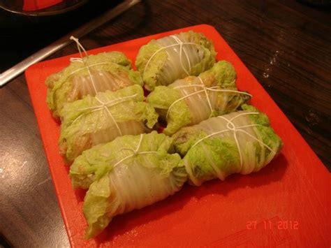 cuisiner le chou chinois chou chinois farci la cuisine sans lactose