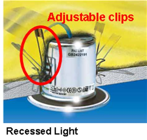 c clips for recessed lighting installation how can i install a recessed light