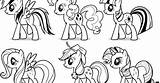 Pony Coloring Template Printable Colors sketch template
