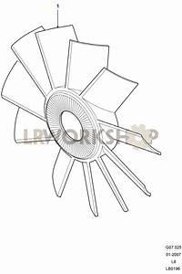 Radiator Fan - 2 4 Tdci