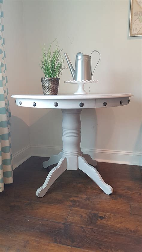 Furniture Trim by Diy Table Makeover How To Add Nailhead Trim