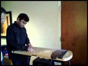 A R Rahman with New Music Instrument Harpejji K24 - YouTube
