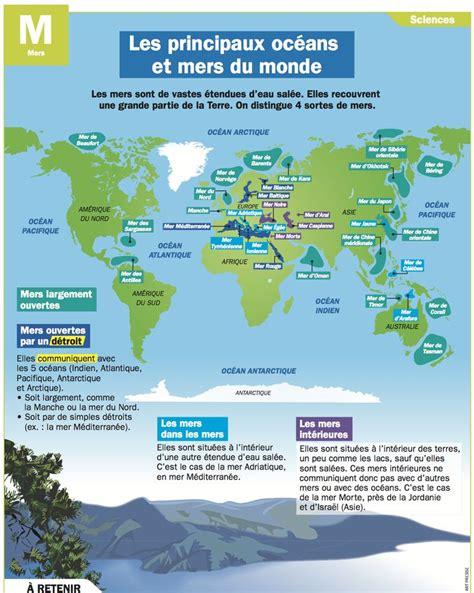 Carte Des Mers Dans Le Monde by Les 25 Meilleures Id 233 Es Concernant G 233 Ographie Sur