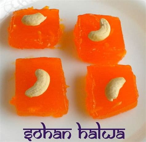 orange colored desserts a quick dessert made within 5 mins using cornflour and sugar party ideas diwali indian
