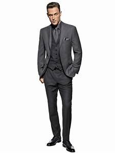 Costume Mariage Homme Gris : costume homme gris chez v pinterest father costumes and wedding ~ Mglfilm.com Idées de Décoration
