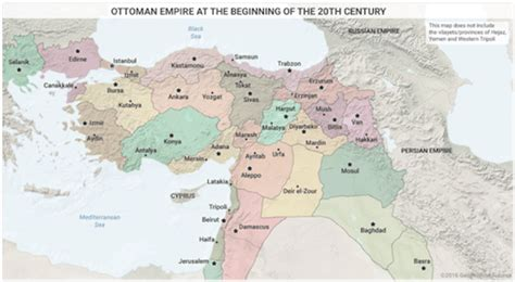 Ottoman Empire Middle East by These 7 Maps Explain The Middle East Business Insider