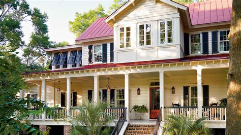 Southern Living House Plans Porches by Vintage Lowcountry Plan 1828 17 House Plans With