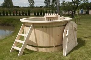 Badefass Mit Ofen : interline hot tub badefass 170 cm inkl ofen abdeckung ~ Whattoseeinmadrid.com Haus und Dekorationen