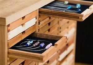 Schmuck Aufbewahrung Schublade : 26 super kreative schmuckaufbewahrung ideen speziell f r damen ~ Frokenaadalensverden.com Haus und Dekorationen