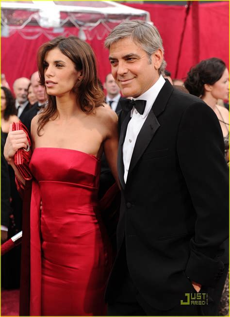 Anne says george clooney makes her. George Clooney & Elisabetta Canalis -- Oscars 2010 Red ...