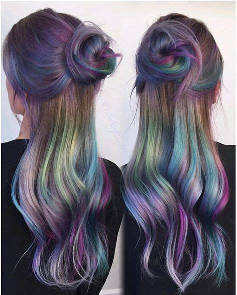 What Colors Go With Hair by Slick Hair The Epic New Rainbow Hair Technique Part 21