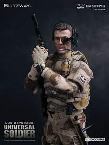 DAMTOYS BLITZWAY DMS002 UNIVERSAL SOLDIER LUC DEVERAUX ...