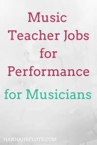 Music graduates would be well suited to the following jobs many jobs are open to graduates from any discipline, although you may need to gain relevant work experience alongside your degree or. Music Teacher Jobs for Music Performance Majors   Hannah B Flute