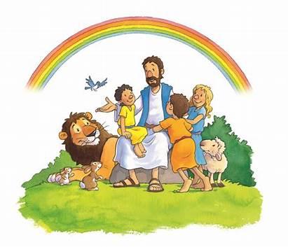 Jesus Children Clipart Child Ministry Heaven Christ