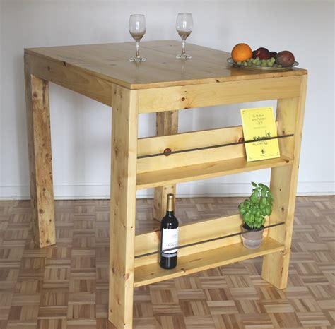 fabriquer table haute cuisine comment faire une table haute ep02 bricolage maison