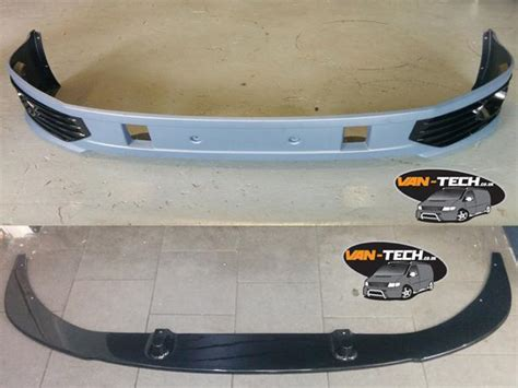 vw t5 2010 sportline front bumper spoiler and lower splitter combo deal stourbridge sandwell