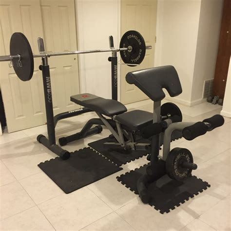 marcy bench press letgo marcy bench press and leg ext in forest ny