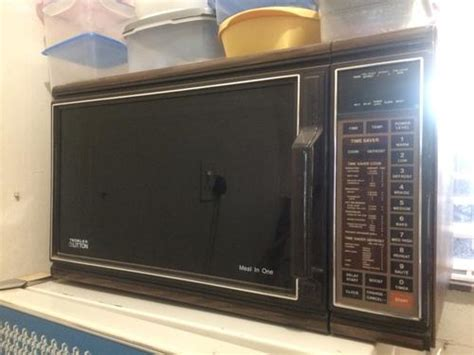 bid or bay appliances antique tedelex litton microwave oven was