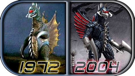 Evolution Of Gigan In Movies & Tv 2018 (1972-2004