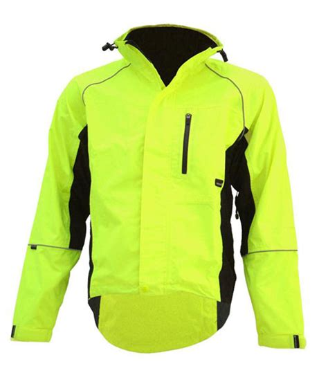 hi vis cycling jacket waterproof endura gridlock waterproof cycling jacket hi viz medium ebay