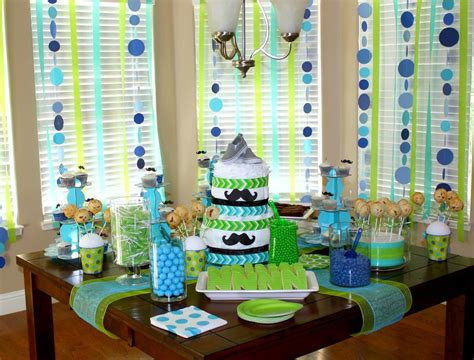 Slightly Overdone, But Some Cute Ideas For A Baby Shower