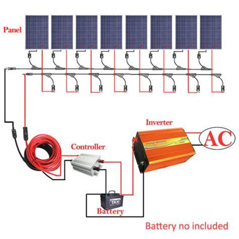 solar panel kit  solar panel  kw inverter