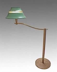 Lampadaire Art Deco : jean perzel rare lampadaire art d co 1940 50 galerie tramway ~ Teatrodelosmanantiales.com Idées de Décoration