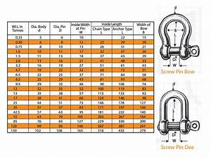 Grade S Safety Bow Shackles The Lifting Company