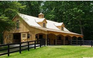 custom built amish horse barns sheds decks and sunrooms With amish prefab barns