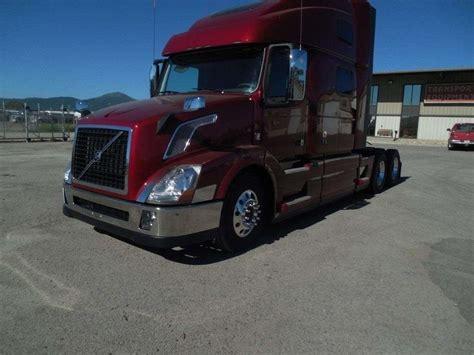 commercial truck for sale volvo 2018 volvo vnl64t780 sleeper semi truck for sale spokane