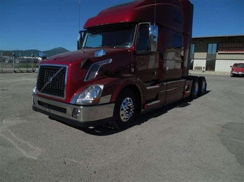 volvo big 2018 volvo vnl64t780 sleeper semi truck for sale spokane