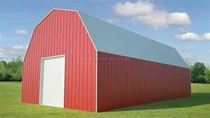 3039 x 6039 gambrel roof for sale from mbmi With 30 x 60 steel building