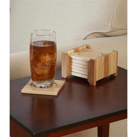 classy coaster set woodworking plan  wood magazine