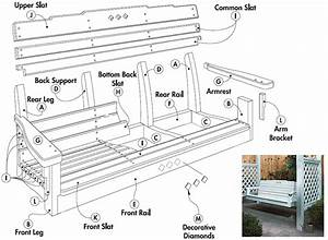 Free Porch Swing Plans - Woodwork City Free Woodworking Plans