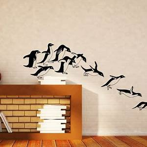 Best penguin wall decor products on wanelo for Best brand of paint for kitchen cabinets with vintage plane wall art
