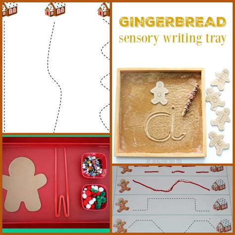 the ultimate gingerbread theme for preschool and 199 | Gingerbread Theme Fine Motor and Writing for Preschool and Kindergarten