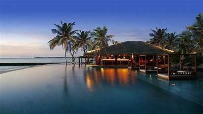 Residence Maldives Bar Falhumaafushi Cenizaro Map Dusk