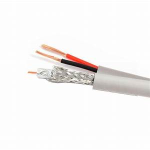 Digiwave 500 Ft  White Rg59 Siamese Cable-rg592dc21500w