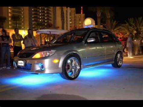 car neon lights car tuning with neon lights
