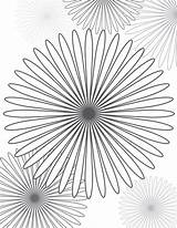 Coloring Pages Spirals Crazy Spiral Flower Colouring Adult Sheets Books Patterns sketch template
