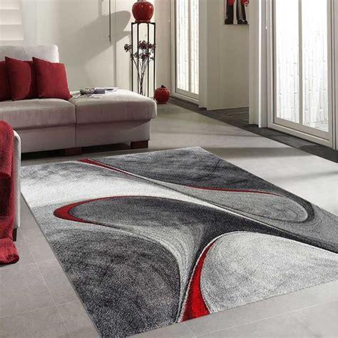 Tapis Salon Dymmutegole Rouge 120x170, Par Unamourdetapis