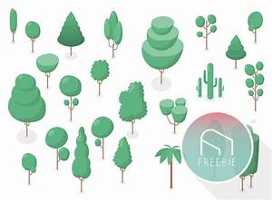 Free Isometric Vector Trees For Architecture Diagrams