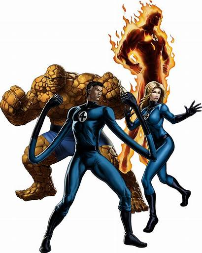 Fantastic Four Disney Team Marvel Avengers Wikia