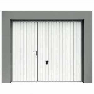 porte de garage basculante a rainures verticales avec With porte de garage basculante avec portillon