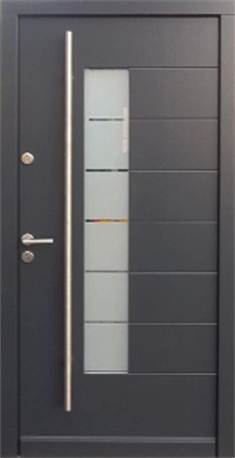 model  modern grey finish wood exterior door modern