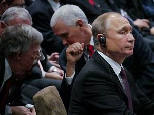 Pence, Putin And Bolton Have 'Informal Conversation' At ...